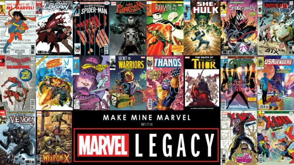 Make Mine Marvel : Quelques titres de Legacy